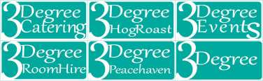 3Degree Room Hire Logo